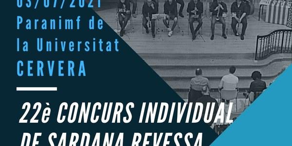 22è Concurs individual de sardana revessa