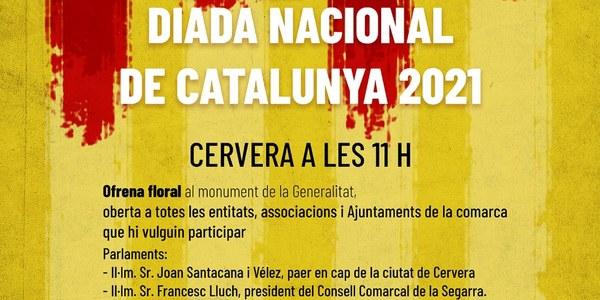 Commemoració de la Diada Nacional de Catalunya