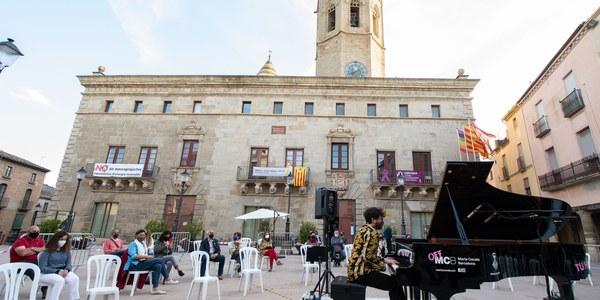 Concert del pianista Carles Marigó (foto Jordi Prat).