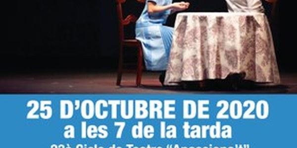 """""""La plaça del Diamant"""", al Cicle de teatre de Cervera"""
