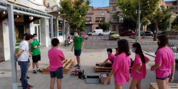 Camp de treball local amb deu joves a Cervera