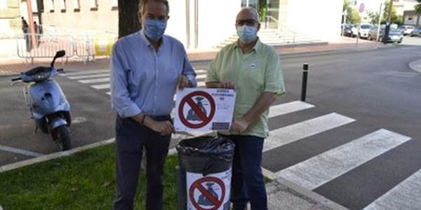 Campanya de sensibilització per al bon ús de les papereres