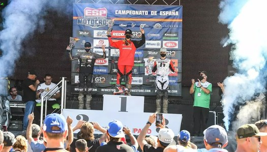Carlos Prat queda 2n a la novena prova del Campionat d'Espanya de motocròs