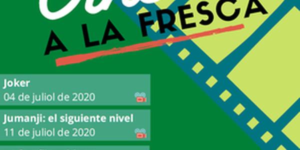 Cinema a la fresca els dissabtes de juliol a Cervera