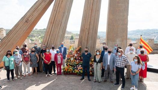 Commemoració de la Diada Nacional de Catalunya a Cervera