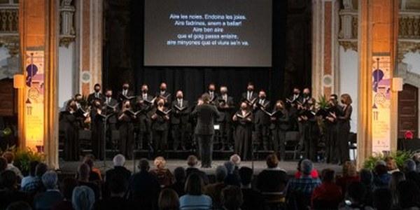 El Cor de Cambra del Palau de la Música, dirigit per Xavier Puig, clou el Festival de Pasqua