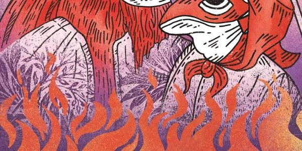 Cartell de l'Aquelarre de Cervera 2021 (Roger Farré).
