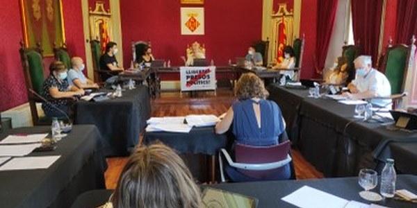 Els càrrecs electes de la Paeria destinaran un 5% de les retribucions a ajuts socials