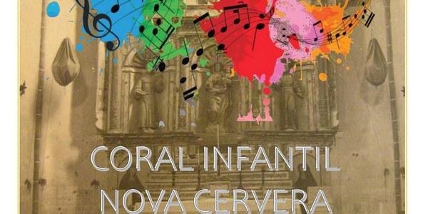 Els concerts de fi de curs de la Coral infantil Nova Cervera, en un espai inèdit: el convent de Sant Francesc