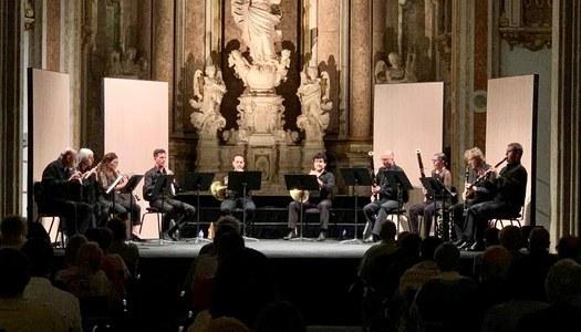 Els vents de l'OJC i l'artista Judit Neddermann posen música al Festival de Cervera