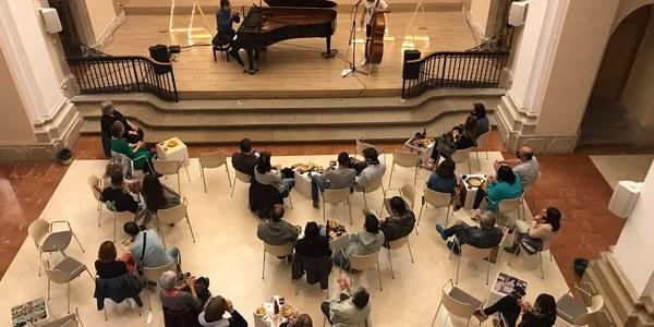 El concert va tenir lloc a l'Auditori.