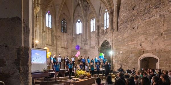 Concert a Sant Francesc (foto Josep M. Escudé).