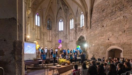 Fantàstics i emotius concerts de fi de curs de la Coral infantil Nova Cervera