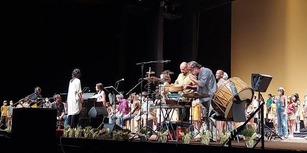 Concert de les corals (foto Aida Escudé).