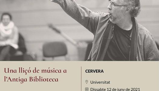 La Jove Capella Reial de Catalunya actuarà a Cervera