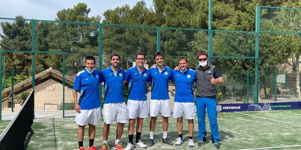 La meitat dels equips de pàdel del CE Mas Duran van guanyar aquesta jornada