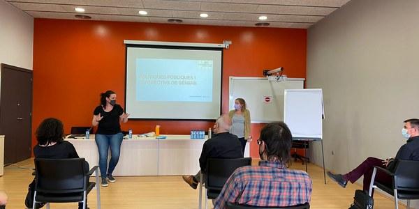 La sessió de formació va tenir lloc a la sala d'actes del CEI Cervera.