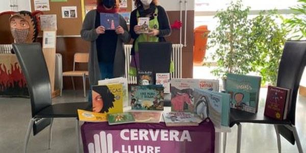 La Paeria dota les biblioteques escolars de Cervera de llibres amb perspectiva de gènere i diversitat sexual