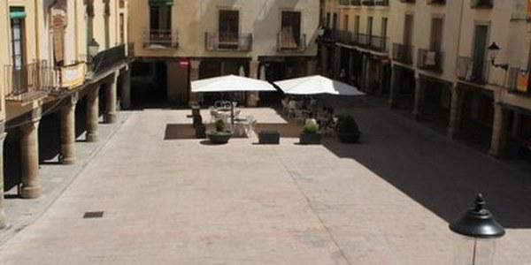 La plaça Major esdevé zona preferent per a vianants