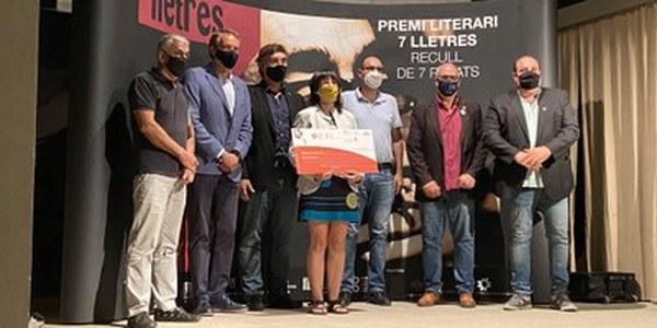La segarrenca Ester Enrich Coma guanya el Premi 7lletres