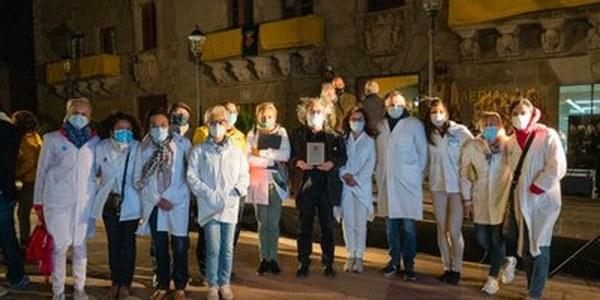 L'Equip d'Atenció Primària de Cervera, agraïts que el Pregó de Festa Major donés veu als professionals sanitaris