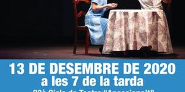 """Les representacions de """"La plaça del Diamant"""" i """"L'espill encantat"""" es reprogramen al desembre"""