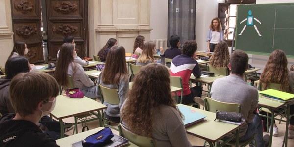 """L'institut Antoni Torroja, al programa """"El suplent"""" de TV3"""