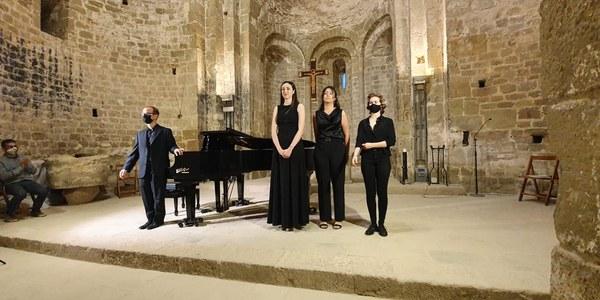 Recital a Sant Pere de Ponts.