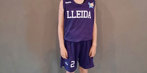 Laia Vila, amb la selecció de Lleida.