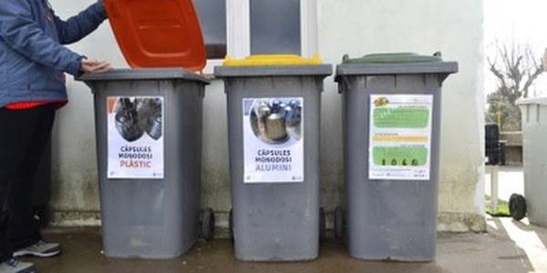 Servei de reciclatge de les càpsules de cafè