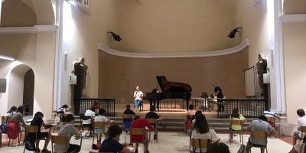 Torna la música a les aules del Conservatori de Cervera