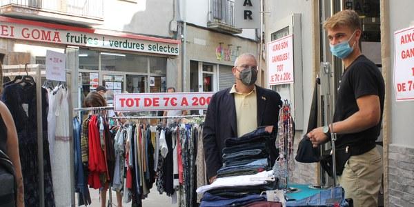 """Visita al mercat i """"les botigues al carrer"""""""