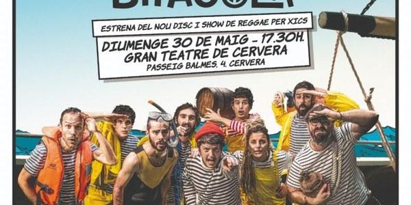 """Espectacle familiar """"Quadern de Bitàcola"""", amb Reggae Xics"""