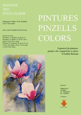"""Exposició """"Pintures, pinzells i colors"""""""
