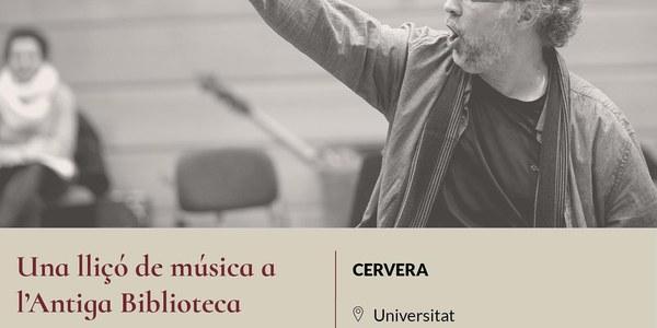 """Concert """"Una lliçó de música a l'Antiga Biblioteca"""""""