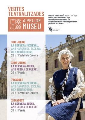 """Visita teatralitzada """"A peu de museu"""""""