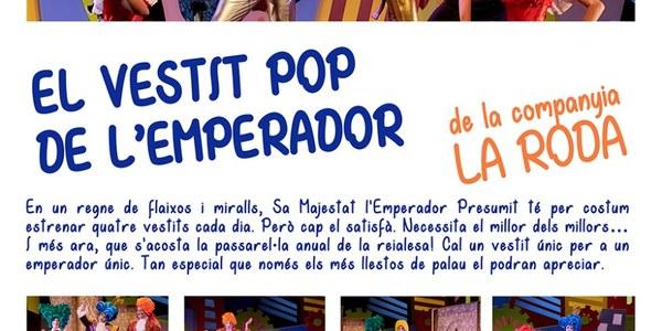 """Obra de teatre """"El vestit pop de l'emperador"""" de la Roda Produccions"""