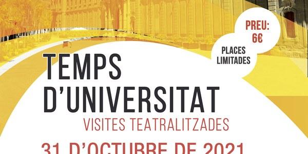 """Visita teatralitzada """"Temps d'Universitat"""""""