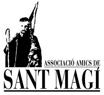 Escut Associació d'Amics de Sant Magí.