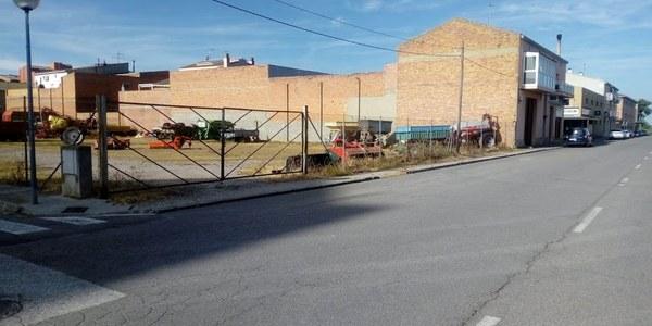 Condicionament de les voreres a la zona de l'avinguda del Mil·lenari