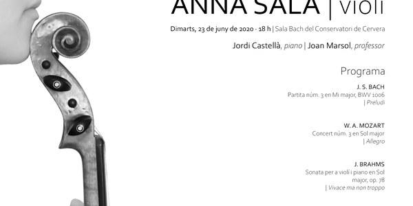 Anna Sala, violí