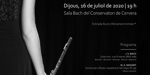 Cristina Rius, flauta travessera