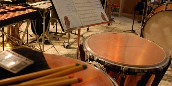 Marc Celeiro i Ariadna Petit, recital de percussió