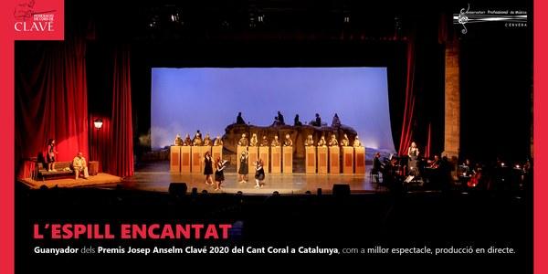 L'Espill Encantat, guanyador dels Premis Clavé 2020 com a millor espectacle en directe